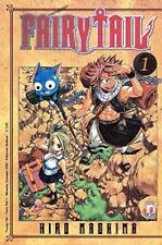 manga - FAIRY TAIL  N. 1  - nuovo star comics hiro mashima