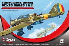 PZL 23 Karas I & II WW II axe bomber (roumain af mkgs) 1/48 mirage neuf!