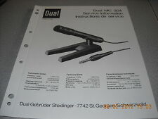Dual MC304 Service Manual
