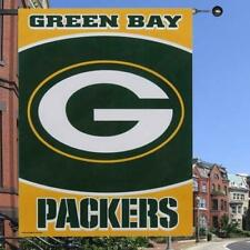 "WinCraft NFL Green Bay Packers 27"" x 37"" Green-Yellow Vertical Banner Flag"