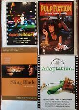 Lot of Screenplay Shooting Scripts Pulp Fiction/ Slingblade/ Slumdog /Adaptation