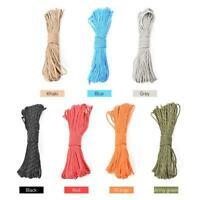 100ft Camping Tent Awning Reflective Guyline Rope Runners Guy Line Cord Paracord