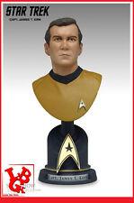 STAR TREK Buste Captain KITK Sideshow Resine 17Cm 5000ex bust 2002 # NEUF #