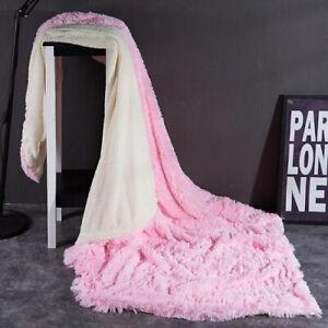 2020 Grey blanket queen size king size adult bedspread cover velvet bed cover