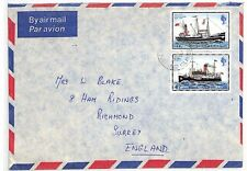 SS202 1979 * Puerto Stanley Islas Malvinas * Richmond Surrey {samwells-cubre} Pts