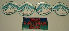 Lot of 5 Dmb Dave Matthews Band stickers two different styles Sticker