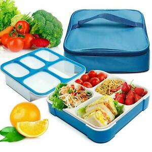Lunch Box  Packed Lunch BPA Free,Leakproof Container, Dry & Liquid Food