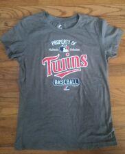 Minnesota Twins Mlb Baseball Majestic Women's T-shirt Size Medium