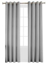Lightenberg No. 918 Kendall Curtain Panels 50 by 94 Inch set of 2  -Nickel-New