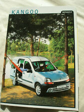 Renault Kangoo brochure Nov 1999