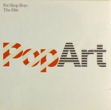 2x CD - Pet Shop Boys - PopArt - The Hits - #A3241