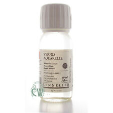 Sennelier Watercolour Varnish 60ml. Artists Water Colour Painting Varnish.