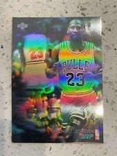 1991 Upper Deck #AW4 Michael Jordan MVP Hologram Card, Chicago Bulls Holo