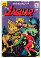 ADVENTURES OF THE JAGUAR #2 - 1961 - Very Good condition - SIlver Age comic