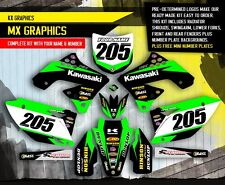 2009 2010 2011 KXF 450 GRAPHICS KIT KAWASAKI KX450F MOTOCROSS DIRT BIKE DECALS 1