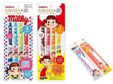 Peko Chan 8 Gel Ink Scented Ballpoint Pen+2 Refill☘FUJIYA SARASA CLIP ZEBRA Rare