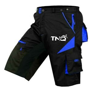 MTB Shorts Bicycle Mountain Cycle Off Road Padded shorts Outdoor with 9 pockets