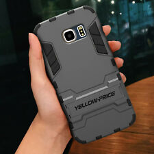 FOR SAMSUNG GALAXY S6 Edge Shockproof protective Armor Case KickStand Cover Dual
