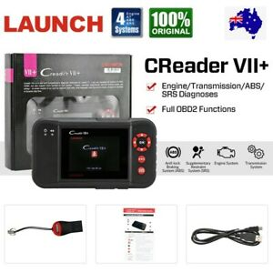LAUNCH VII+ Car & Auto Diagnostic Scan Tool OBD2 Code Reader For Ford Holden AU