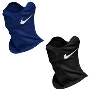 Nike Neck Warmer Wrap Black Blue Face Mask Gaiter Snood Strike BQ5832-013 455