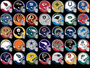 "2021/22 NFL Football Teams Schedule Fridge Magnets 5"" X 3.5""(Choose From List)"