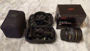 Sigma EX DG 8mm f/3.5 EX DG Lens For Nikon + Nodal Ninja R10 Virtual Tour Kit