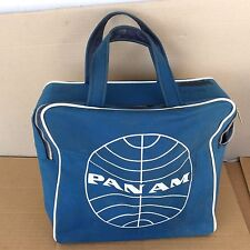 Vintage 1960s/70s Pan Am Blue Travel Bag