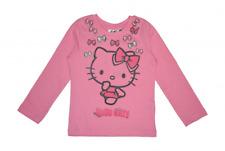 Hello Kitty Langarmshirt rosa
