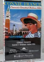 Greatest Italian Hits by Connie Francis (Cassette, Oct-1990, Polydor)