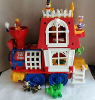 Vintage Bluebird Toys Jungle Fun Train with Figures 1992. Complete, Good Cond.