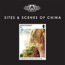 Montserrat - 2012 SITES AND SCENES OF CHINA STAMP SOUVENIR SHEET (#2) MNH