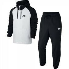 Mens Nike Sportswear Track Suit 861772-011 Black/White Brand New Size L