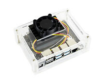 Acrylic Case with Dedicated Cooling Fan for NVIDIA Jetson Nano Developer Kit