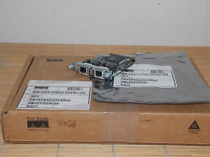 NEU Cisco 2Port VWIC-2MFT-G703 Multiflex Trunk Card NEW OPEN BOX