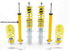 VW Golf MK4 1.8T GTI TDI V5 FK AK Street Coilover Kit Height Adjustable 35-55mm
