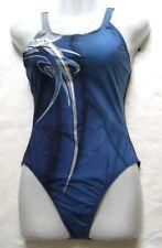 arena Damen Badeanzug Misadora Gr 40 Navy blau chlorbeständig 28568