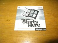 Retail Full Windows 98 Starts Here Disc 0298 Part N. X03-46755