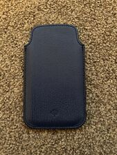 Mulberry iPhone 5/5S SE Pouch Blue Genuine