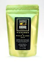 Oakridge BBQ Venison & Wild Game Dry Rub 6oz Packet Barbecue Meat Grill Spice