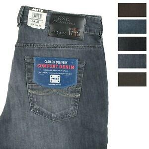 JOKER Herren Jeans FREDDY Farbwahl Abverkauf Ganzjahres-Stretchdenim %%