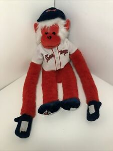 Boston Red Sox- Portland Sea Dogs- Plush Monkey With Jersey- Pre Owned