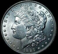 1887 Morgan Silver Dollar UNC A46-532