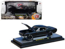 7a4ae5e72875a 1966 Ford Mustang 2+2 GT Black Pearl Metallic 1 24 Diecast Model -