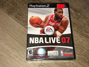 NBA Live 07 PlayStation PS2 Brand New Factory Sealed