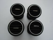 AUDI A3 8P SET OF 4 FRONT DASHBOARD AIR VENT BLACK SURROUND 8P0820901A