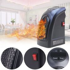 350W Electric Wall-Outlet Space Heater Mini Home Office Handy Warmer Portable