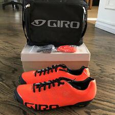 Giro Empire Limited Edition VR90 Cycling Mountain Shoes Orange Size 9 EU 42 $300