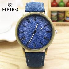 MEIBO Women's Watch Retro Vogue Colored Leather Strap Quartz W1D