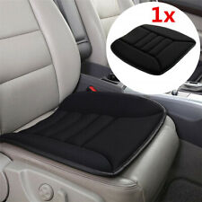 Universal Car Seat Cushion Non-slip Memory Foam Mat Office Chair Cover Black 1x