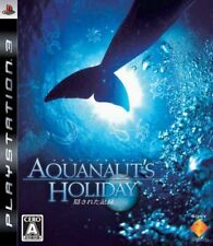 PS3 Aquanaut's Holiday PlayStation 3 Record that has been hidden Japan Game